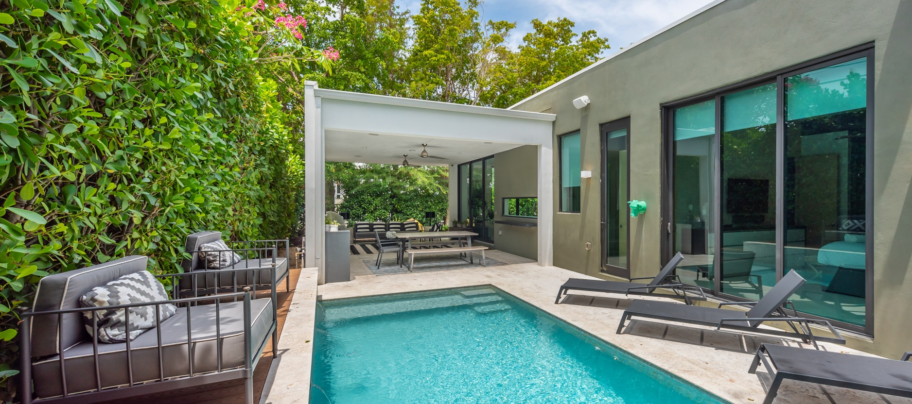 Villa Amaya luxury rental in Design District