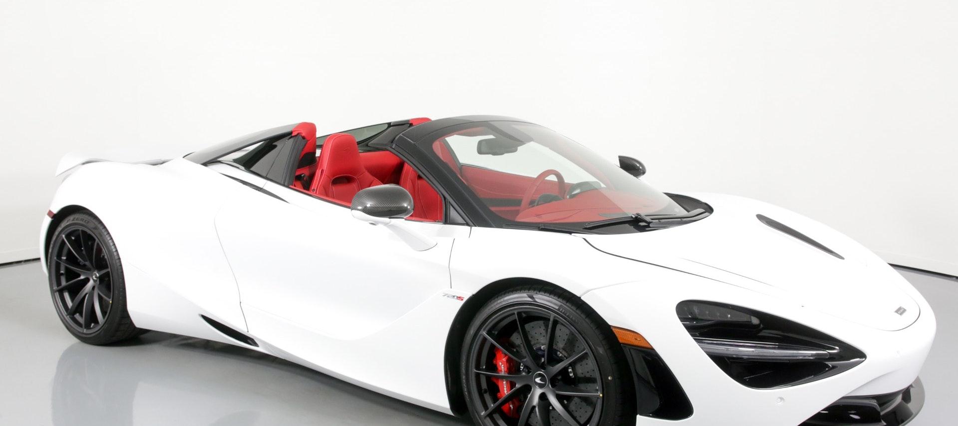 2020 McLaren 720s Spider for rent in Miami