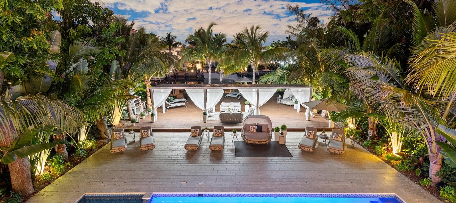 Villa Forge luxury rental in Miami Beach