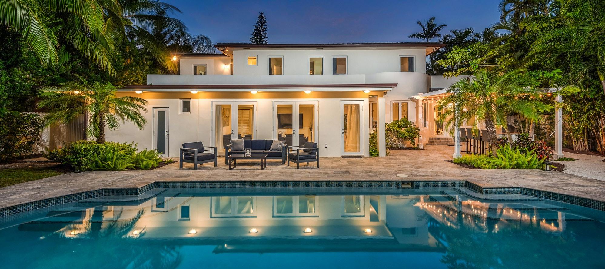 Villa Colada luxury rental in Brickell