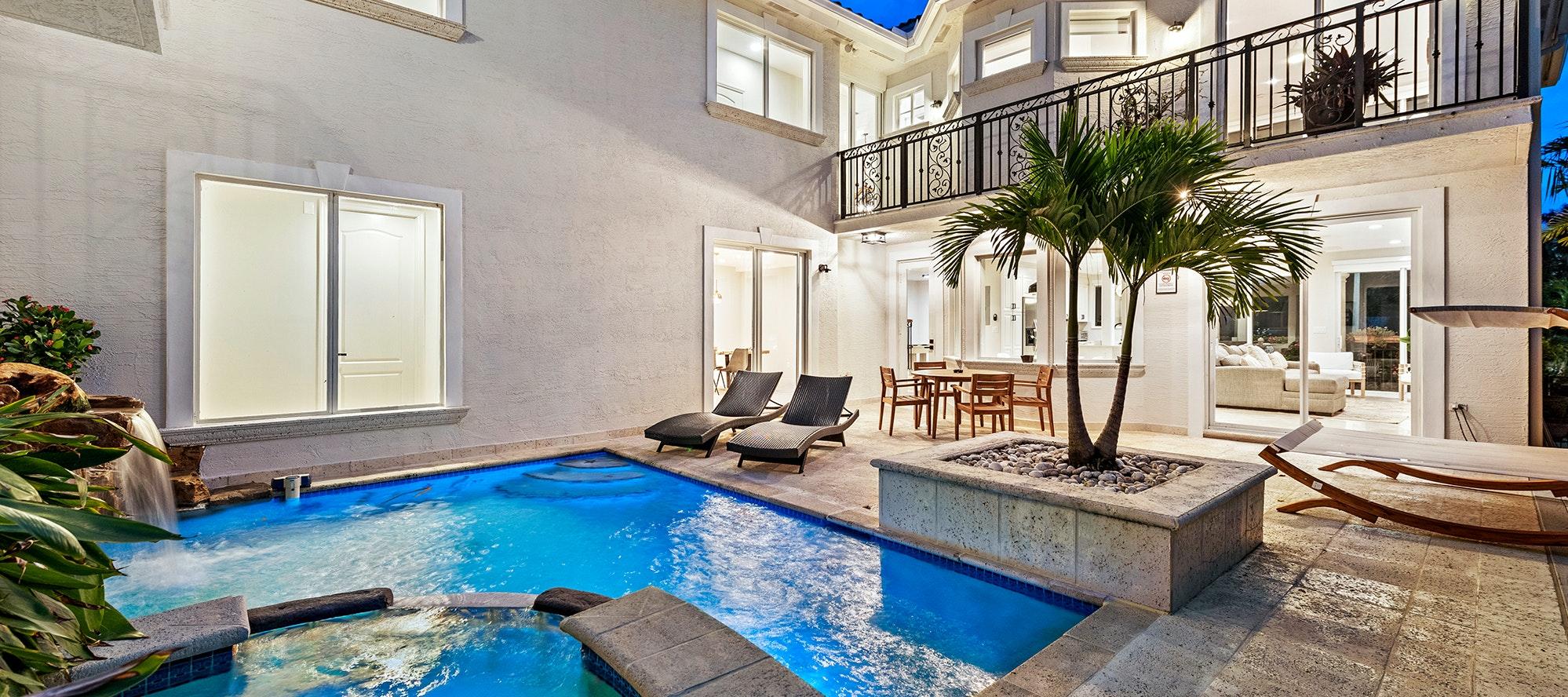 Villa Belmar luxury rental in Miami Shores
