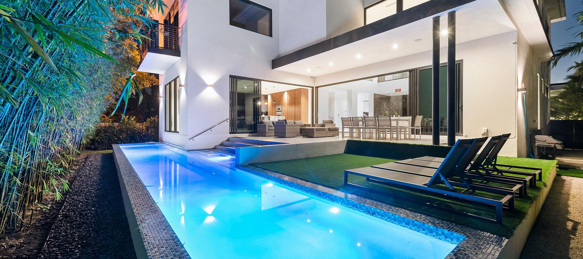 Villa Nautica luxury rental in North Bay Village