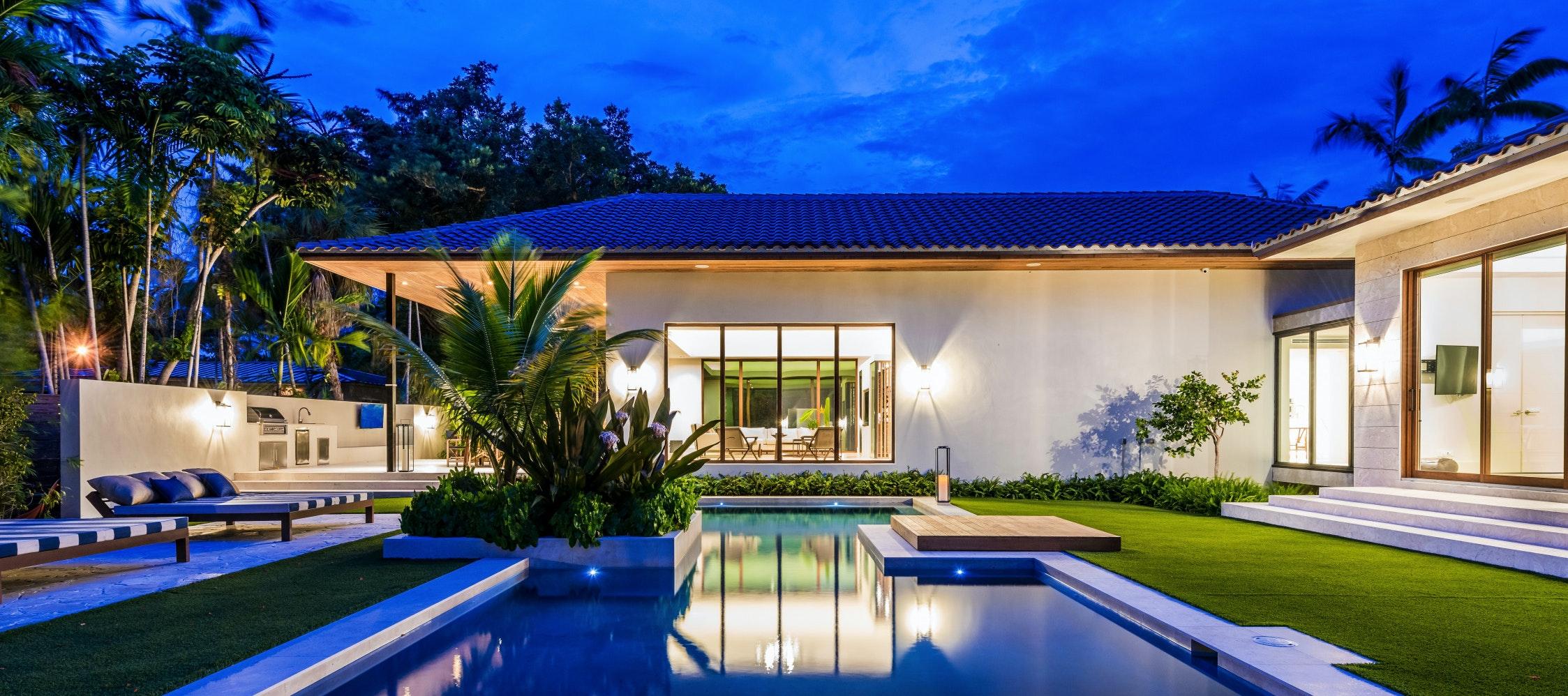 Villa Marya luxury rental in Miami Shores
