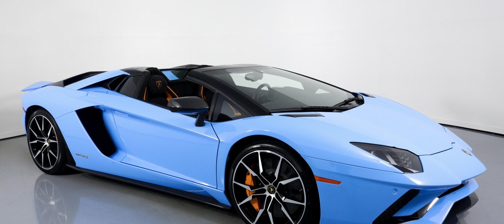 Lamborghini Aventador Spider for rent in Miami